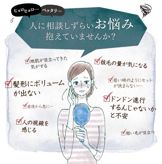 「Kenomika(ケノミカ)」の本音の口コミ♪女性の育毛の悩みに応えます♪